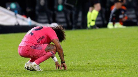 El declive de Marcelo, un asunto que Zidane y Florentino han preferido ignorar