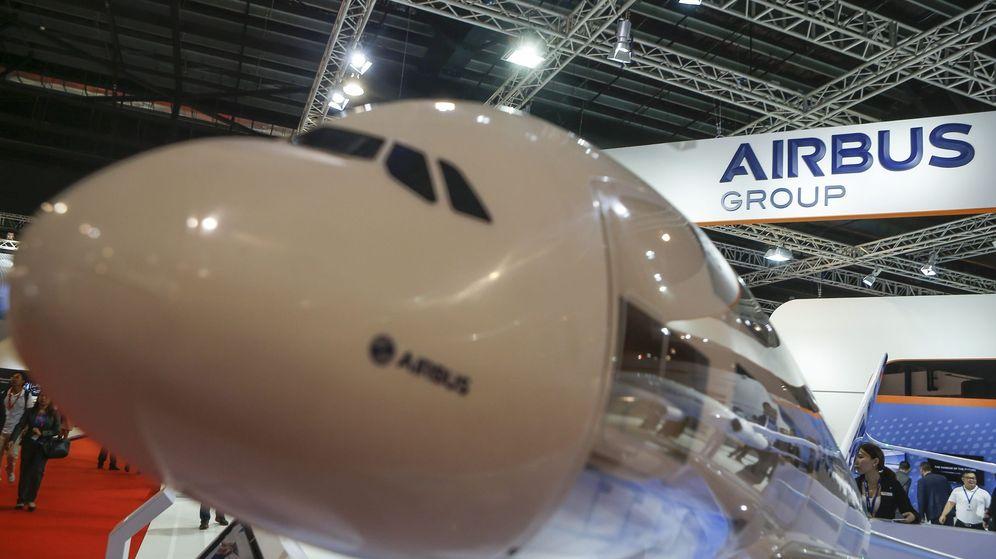 Foto: Una maqueta de un Airbus. (Efe)
