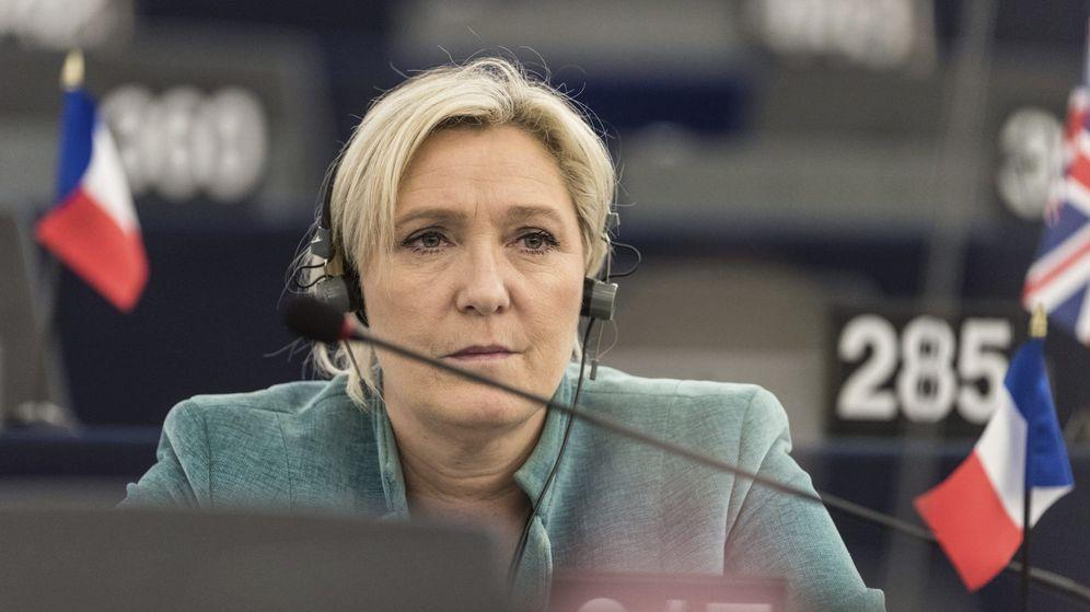 Foto: La líder del partido ultraderechista Frente Nacional, Marine Le Pen. (EFE)