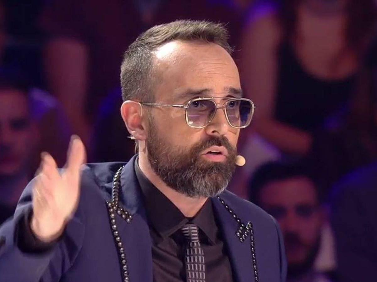 Foto: Risto, en 'Got Talent España'. (Telecinco)