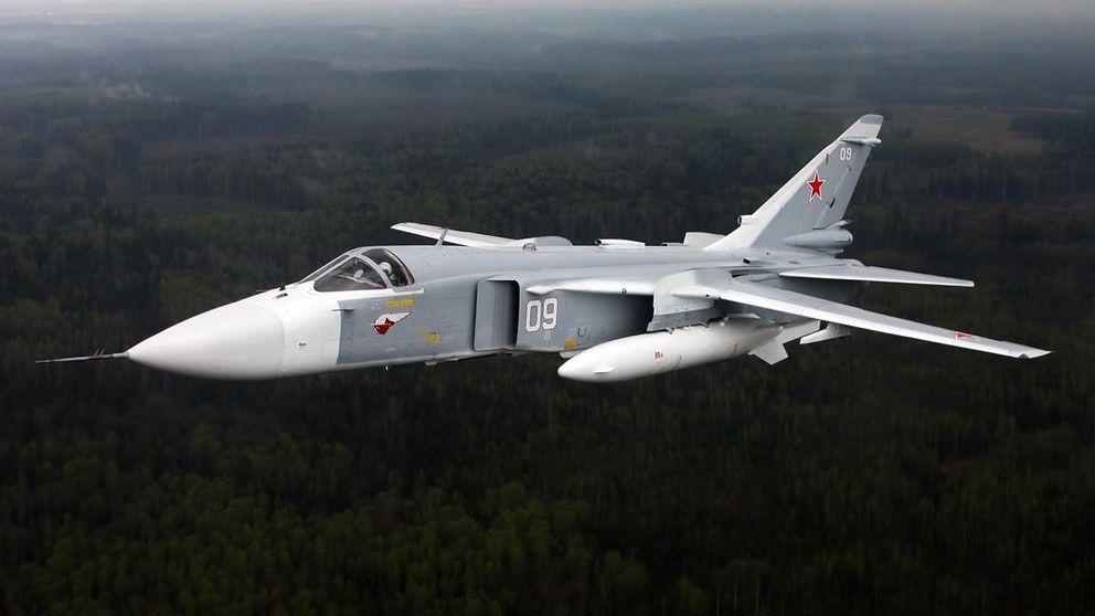 Anticuado y 'analógico': así funciona el bombardero ruso Su-24 derribado