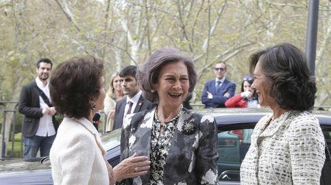 Doña Sofía, Patricia Botín y Paloma O'Shea: trío de damas para una causa musical