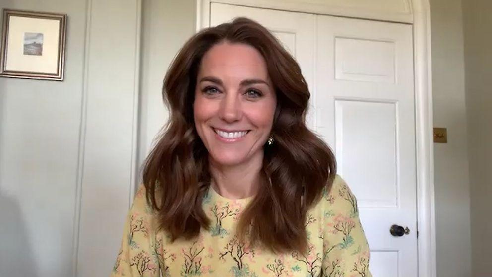 Los looks arcoíris de Kate Middleton (y el bonito mensaje que esconde con su elección)