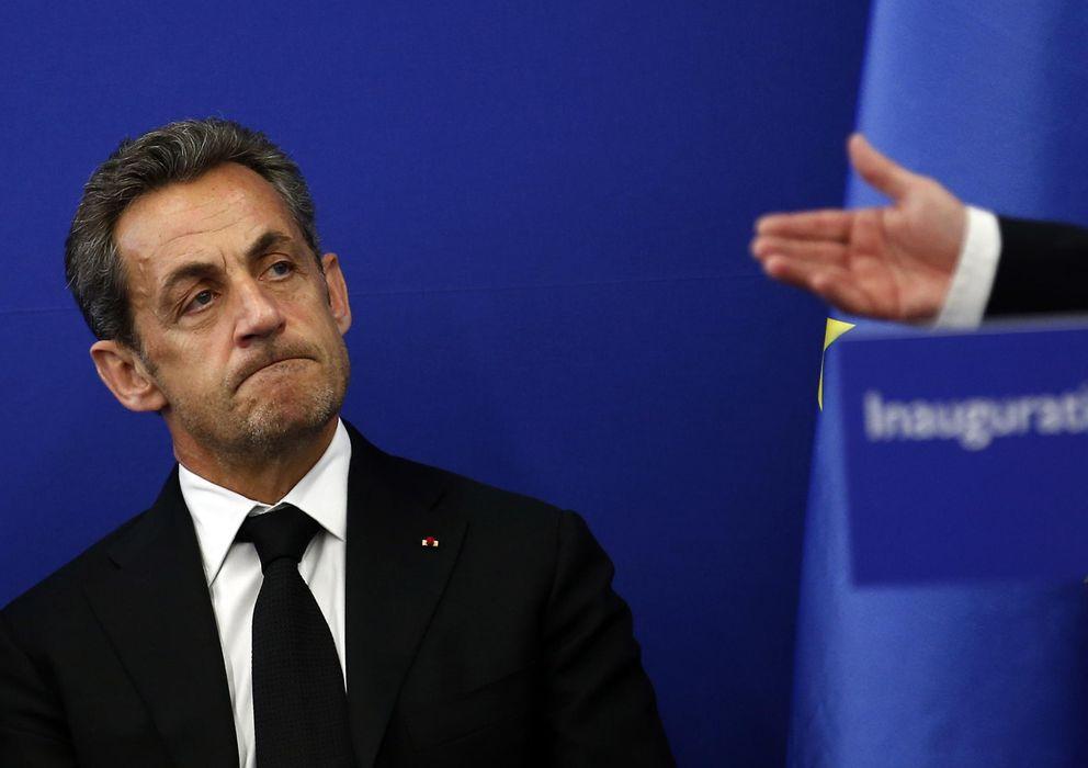 Foto: El expresidente Nicolás Sarkozy durante la inauguración de una centro para investigar el Alzheimer en Niza (Reuters).