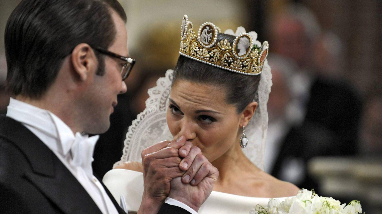 Victoria de Suecia, el día de su boda. (EFE)