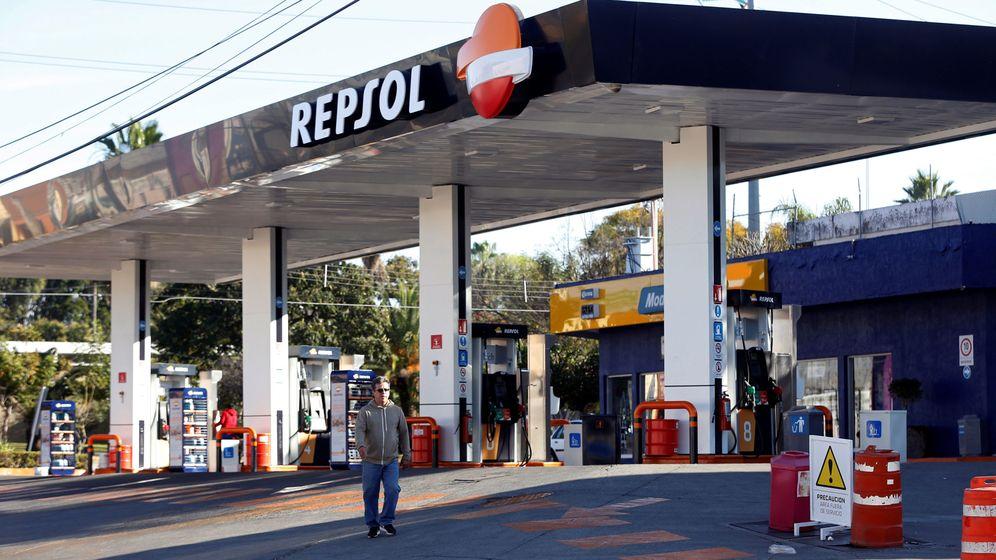 Foto: Estación de servicio de Repsol. (Reuters)