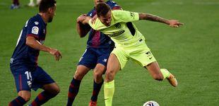 Post de Un Atleti sin filo se deja dos puntos ante el Huesca en un partido para olvidar (0-0)