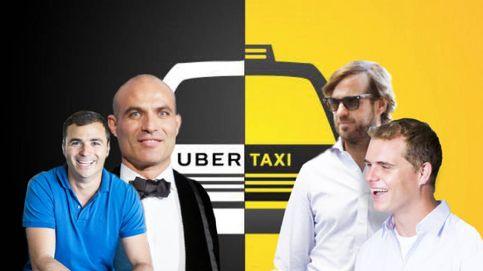 Los verdaderos ganadores de las 'guerras del taxi': 26 personas amasan 450 millones