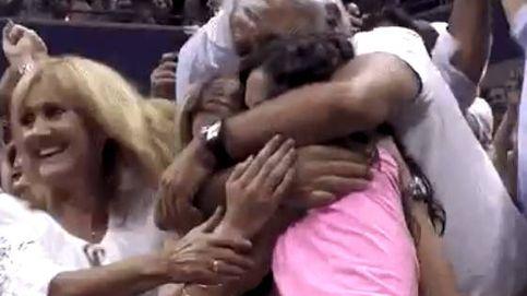 Así sufrieron Xisca y la hermana de Rafa Nadal en el punto definitivo del US Open