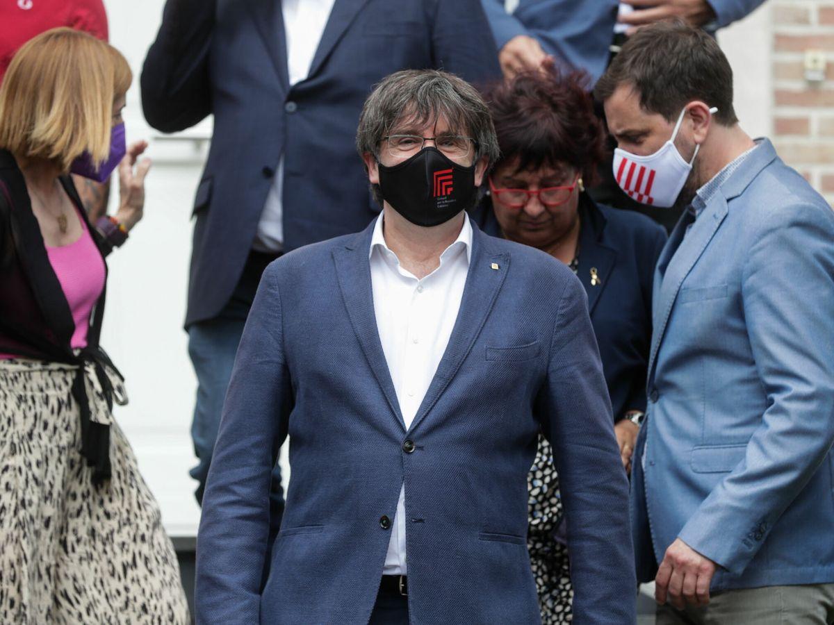 Foto: Carles Puigdemont en una imagen de archivo del 7 de julio. (EFE)