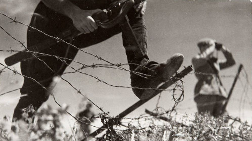 Foto: Imagen de la batalla de Brunete del archivo de la BNC