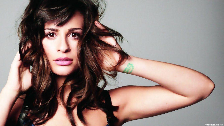 Foto: La cantante Lea Michelle en una imagen de archivo
