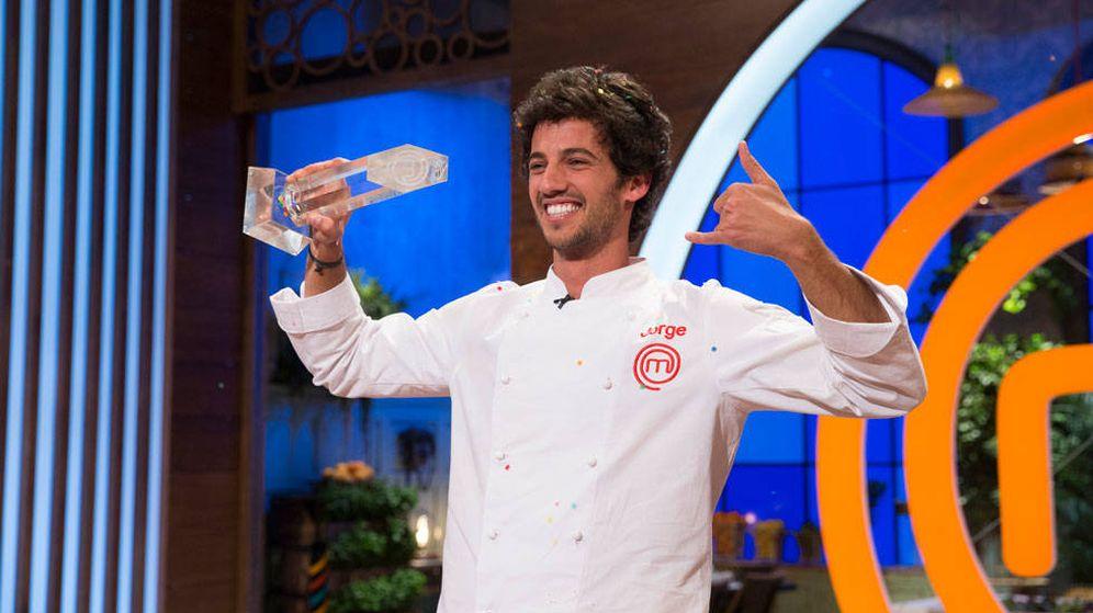 Foto: Jorge, ganador de la quinta edición de 'MasterChef'. (RTVE)
