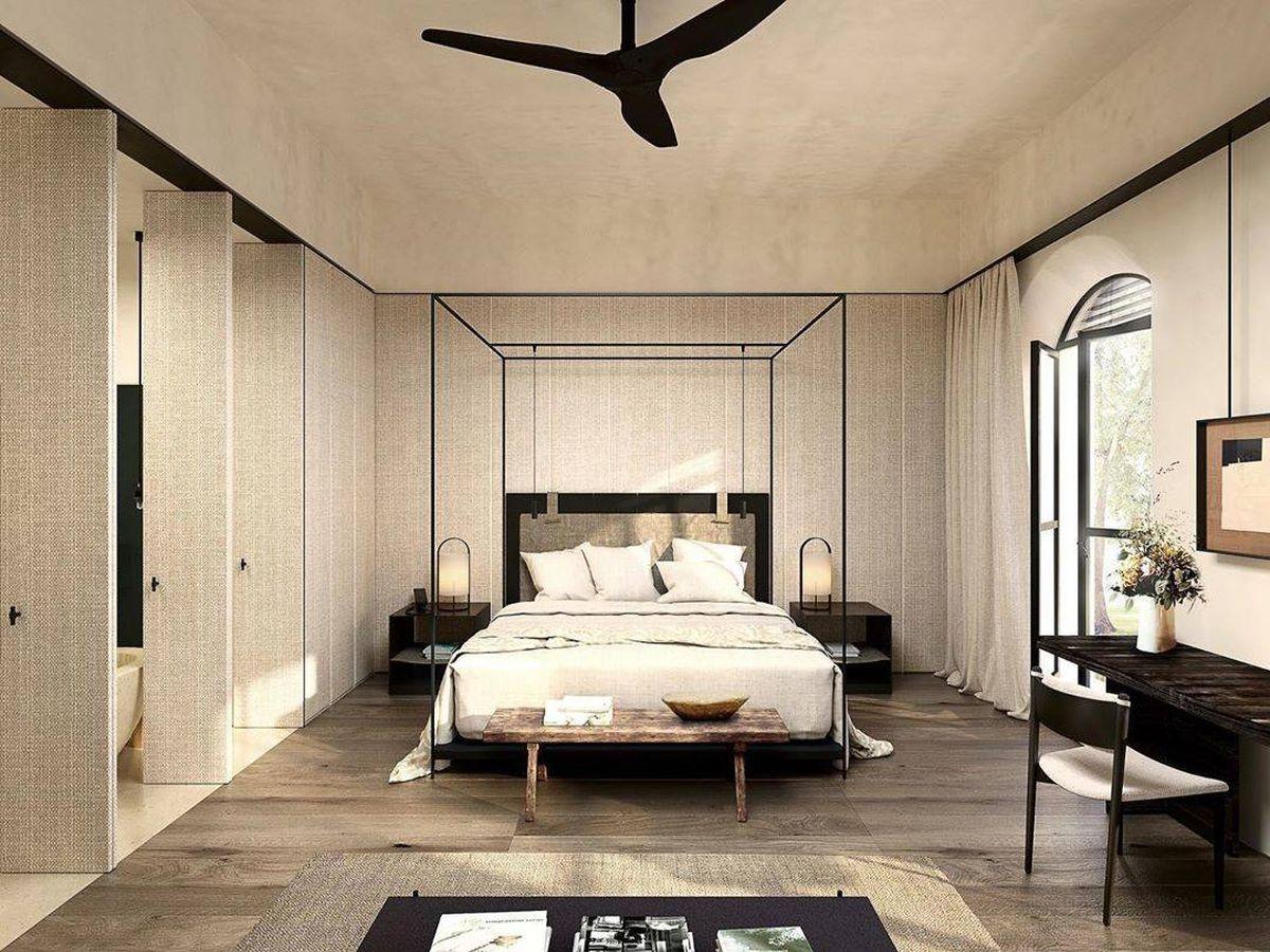 Foto: El hotel Can Ferrereta, ubicado en Mallorca. (Instagram)