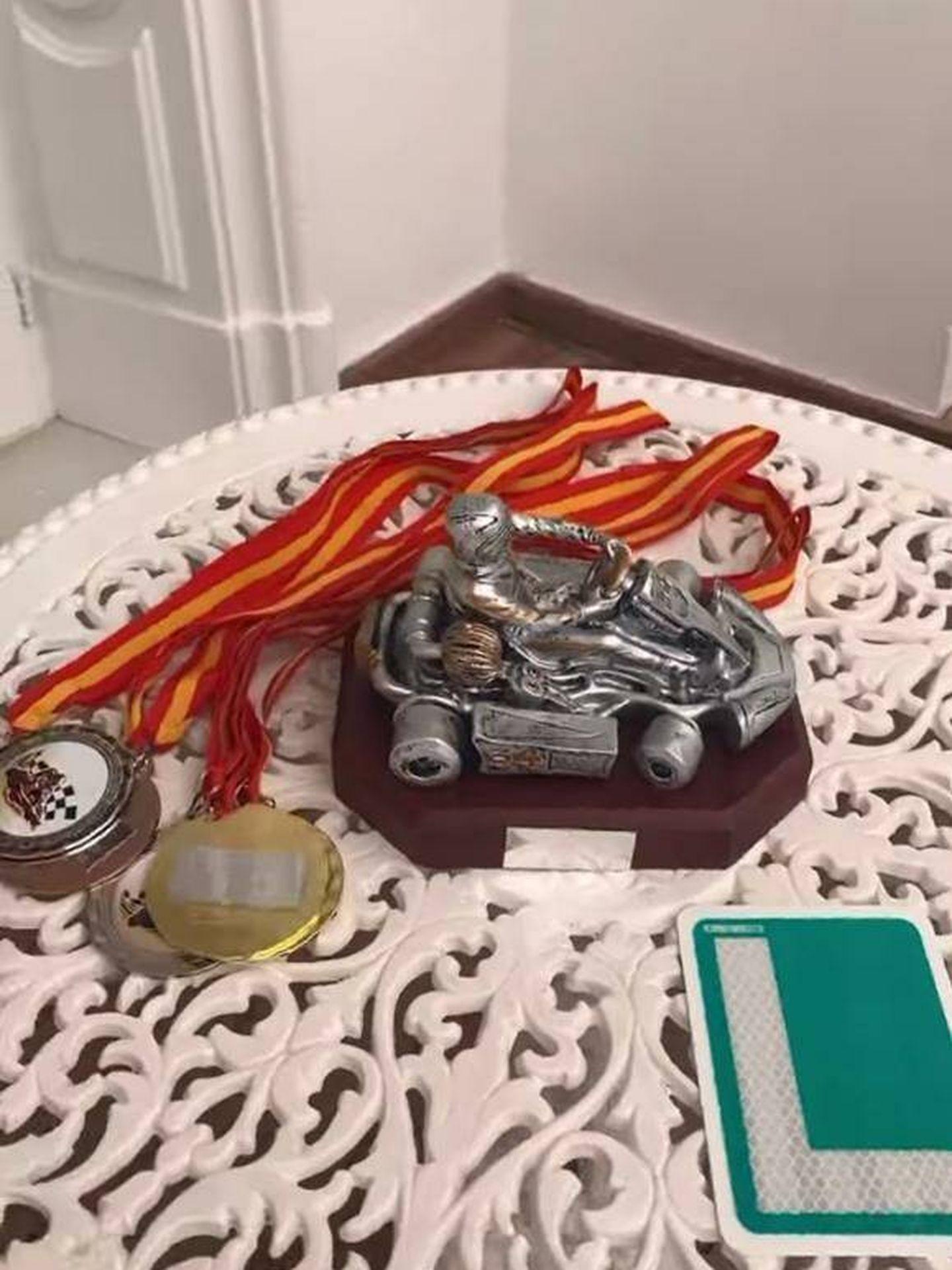 Trofeos para el torneo de kart. (@luciabarcena)
