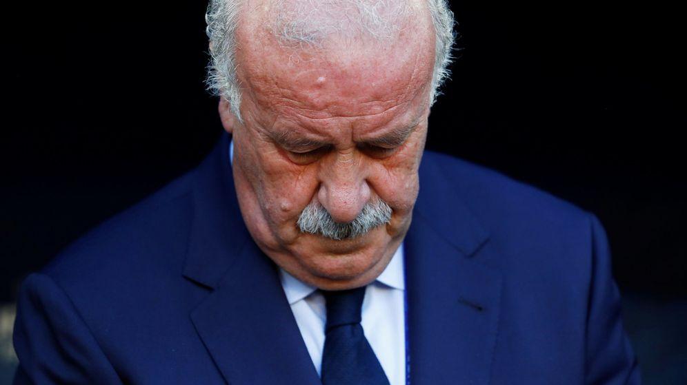Foto: Vicente del Bosque (Reuters)