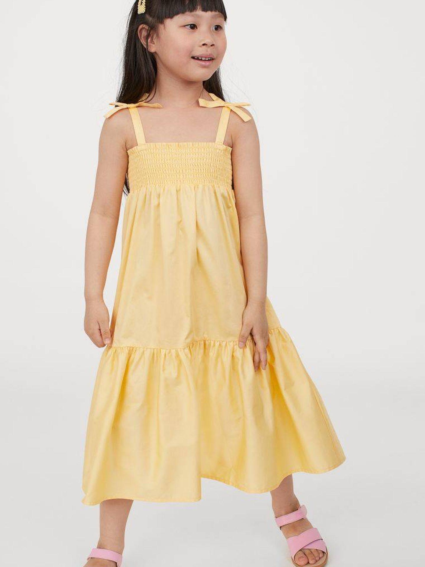 El nuevo vestido de H