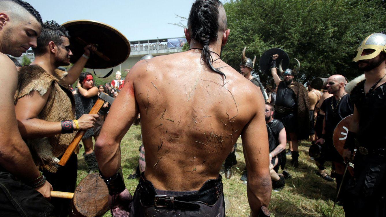 Foto: Fiesta vikinga en Catoira (Pontevedra)