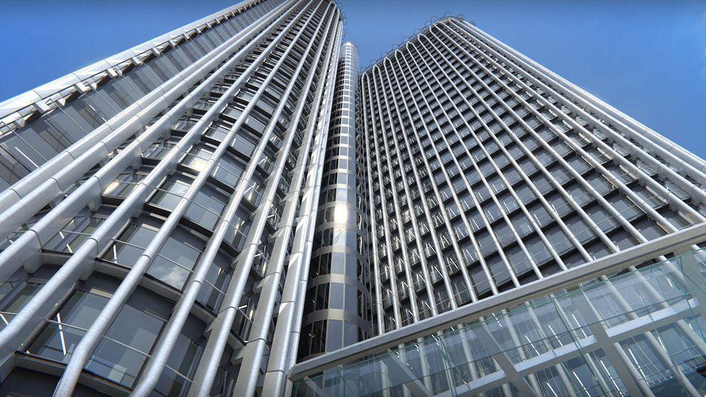 Viaje a las entrañas de Torre Europa, así se transforma un rascacielos
