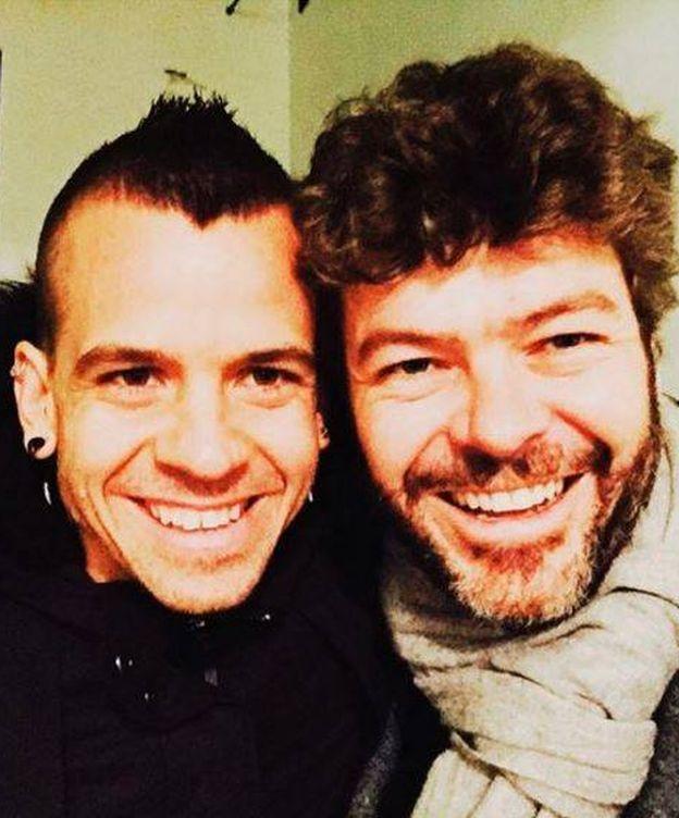 Foto: David Muñoz y Pablo Heras-Casado en una imagen de Instagram
