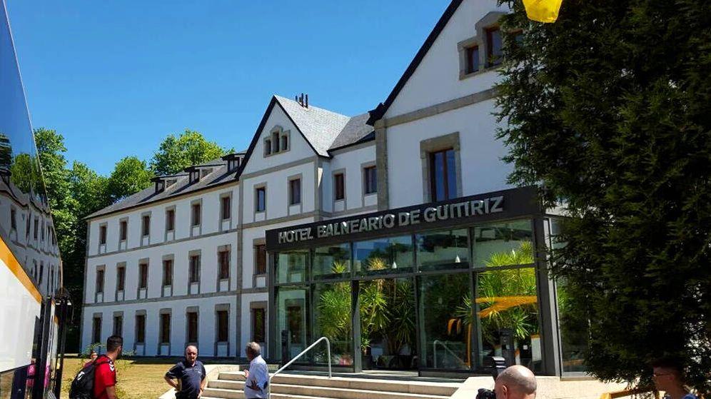 Foto: El balneario de Guitiriz fue el lugar elegido por muchos equipos en el pasado para sus concentraciones (Foto: Facebook)