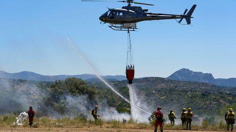 La UME mantiene en Cebreros a 123 militares, 47 vehículos y una máquina pesada