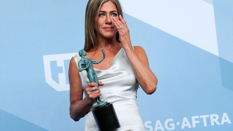 Jennifer Aniston, en los SAG Awards. (EFE)