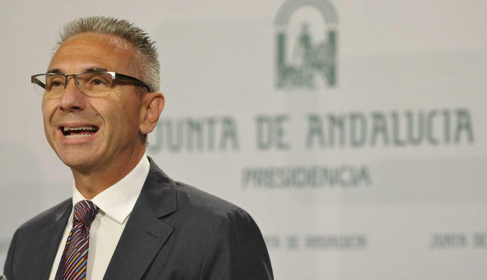 El portavoz del Ejecutivo andaluz, Miguel Ángel Vázquez. (EFE)