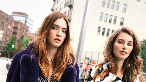 Ficha la colaboración de DVF y sus abrigos de pelo sintético