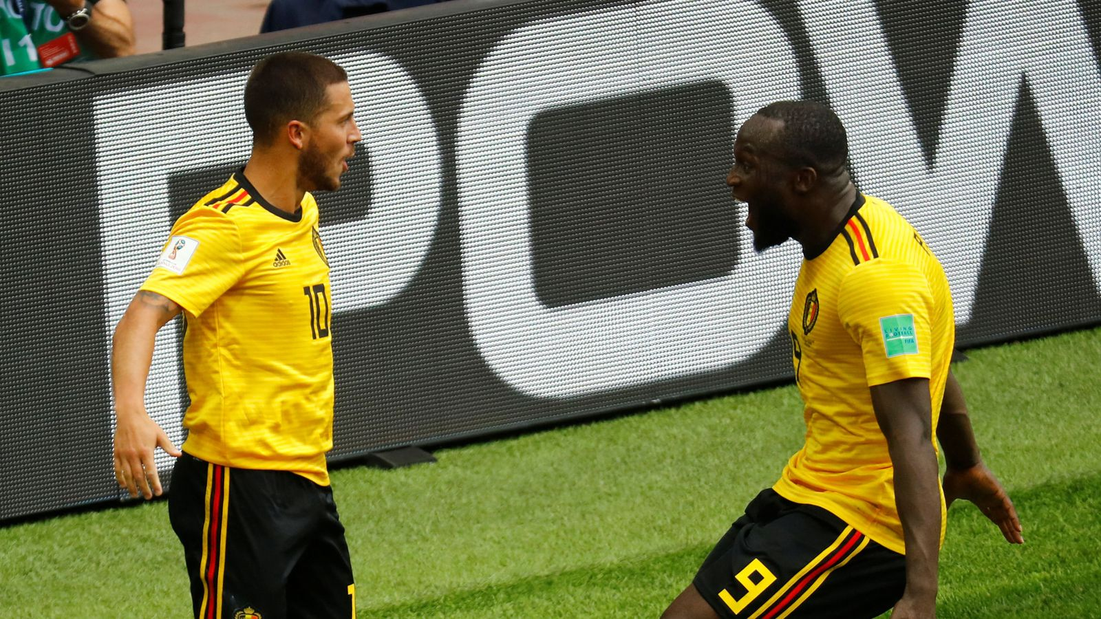Foto: World cup - group g - belgium vs tunisia
