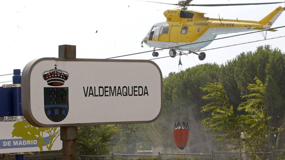 Foto: INCENDIO FORESTAL EN VALDEMAQUEDA