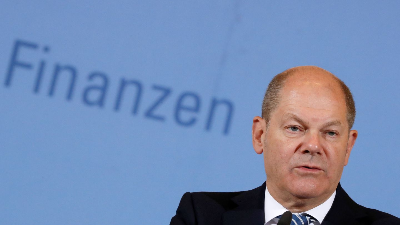 El titular de Finanzas de Alemania, Olaf Scholz. (Reuters)