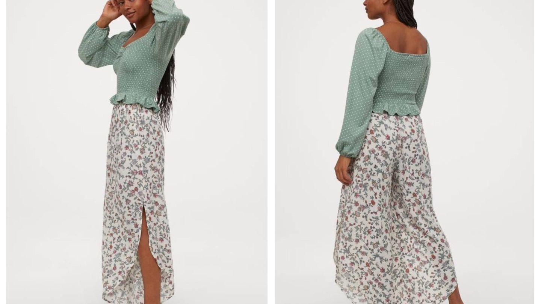 La falda pantalón de HyM. (Cortesía)