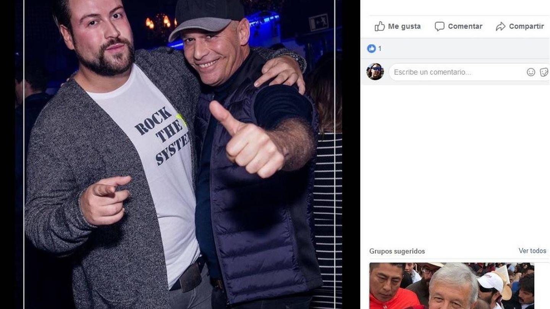 Carlos Lozano en la discoteca Koh Tao, en el 32 de Alberto Alcocer. (Koh Tao).