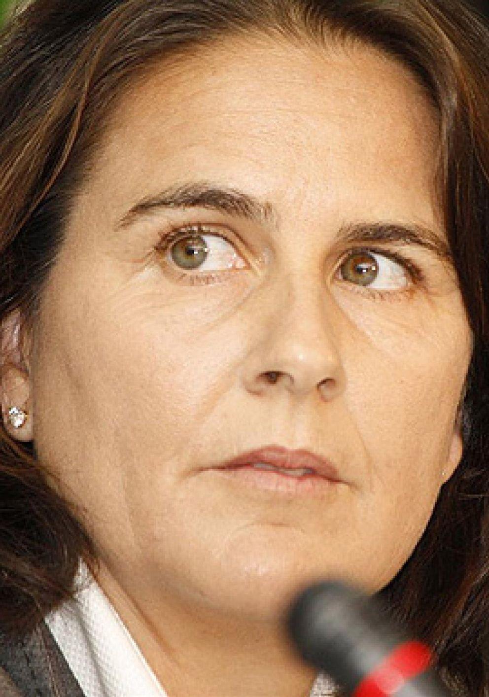 Foto: Conchita Martínez se desvincula de la carta de rechazo al presidente Escañuela