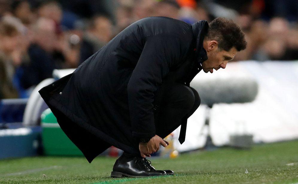 Foto: El Cholo Simeone, en una imagen de archivo. (Reuters)