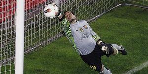 """Pinto, ambicioso: """"Voy a intentar sacarle el puesto a Valdés"""""""