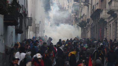 Los 'chalecos amarillos' de Ecuador no le hacen gracia al presidente de las sonrisas