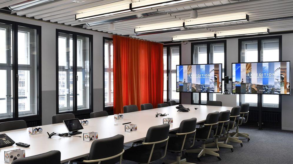 Foto: Nuevas oficinas de Google en Suiza.