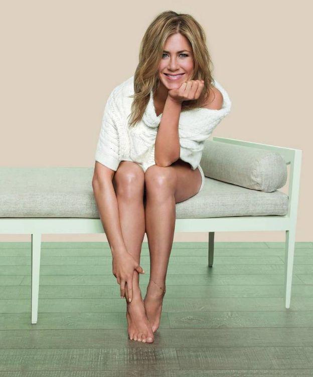 Foto: Jennifer Aniston como imagen de la línea de cosmética Aveeno.