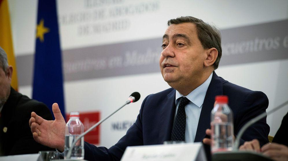 Foto: El fiscal general del Estado en funciones, Julián Sánchez Melgar. (EFE)