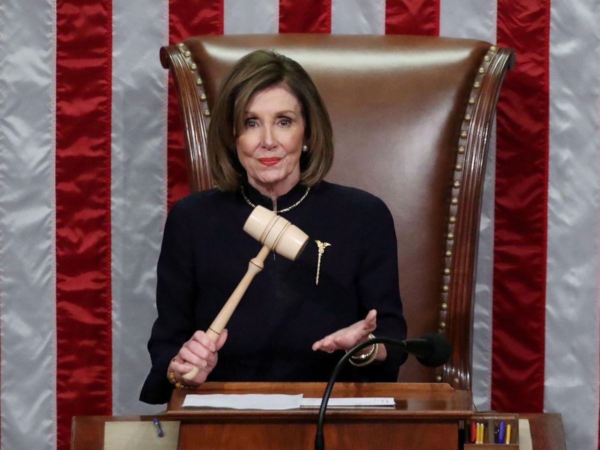 Foto: Nancy, en la Cámara. (Reuters)