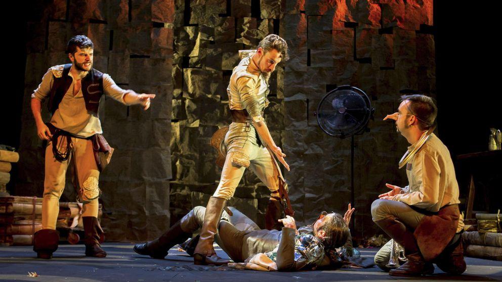 40 invidentes disfrutarán de la representación de 'En un lugar del Quijote'