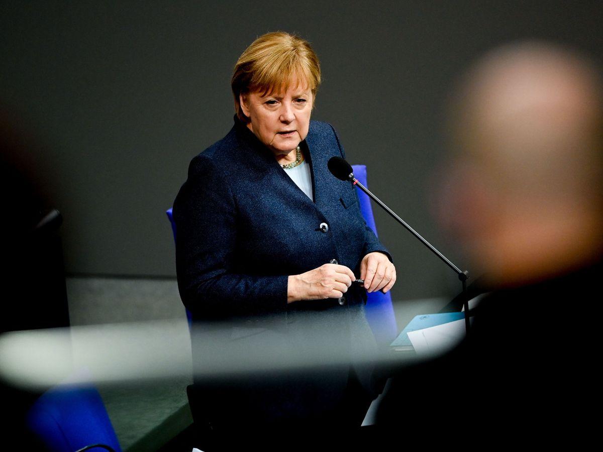 Foto: Angela Merkel en el Bundestag. (Reuters)