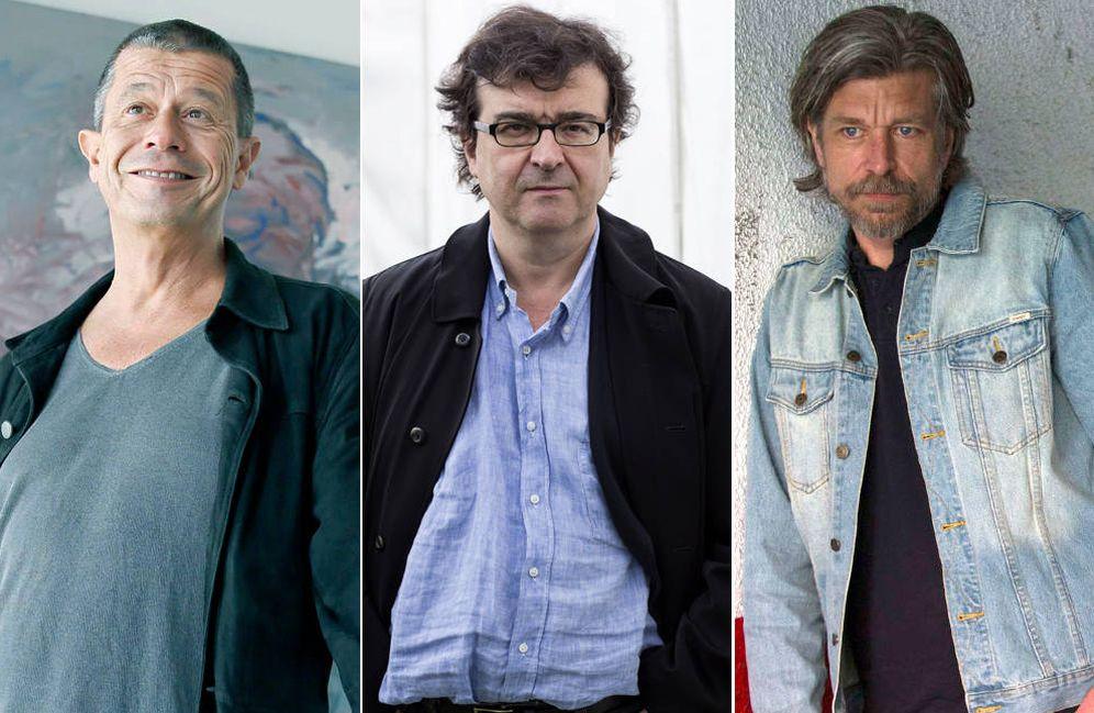 Foto: Carrère, Cercas y Knausgard, unidos en la autoficción