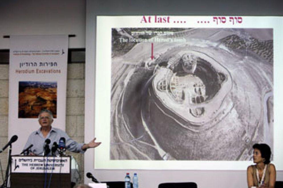 Foto: Arqueólogos israelíes aseguran haber descubierto la tumba del rey Herodes