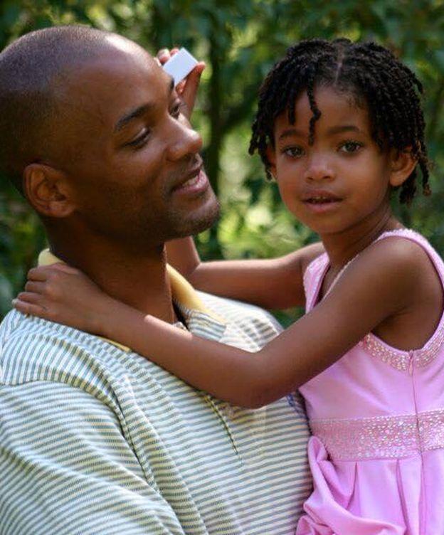 Foto: Will Smith junto a su hija Willow, en una imagen de su Facebook