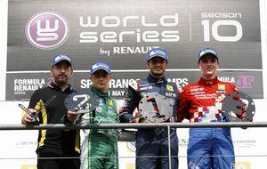 Sainz Jr cumple el sueño de cada equipo y cada piloto en Spa