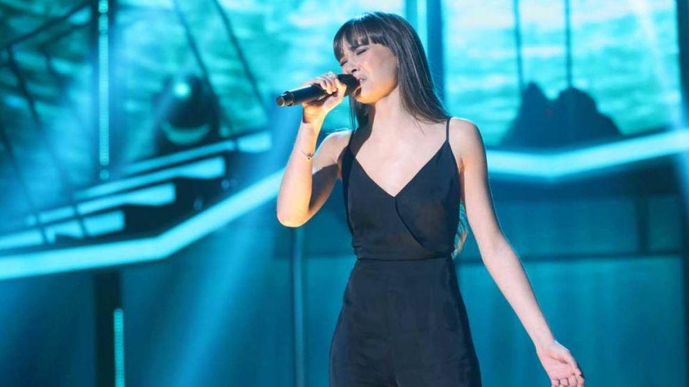 Aitana emociona a Rosa en la final de 'OT 2017': Me pones los pelos de punta