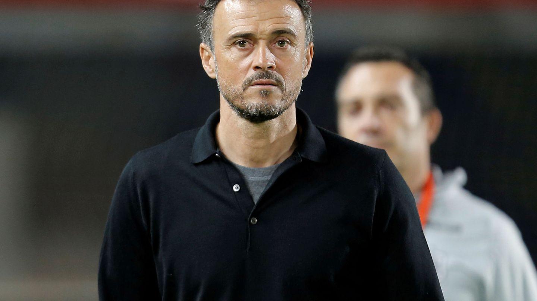Luis Enrique. (Reuters)